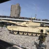 Tanque en Egipto.