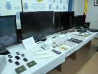 La Policía Nacional detiene a 18 personas por un presunto delito de tráfico de drogas en Toledo