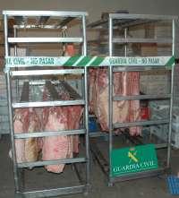 Cuatro detenidos y dos imputados en León por intentar vender 18.600 kilogramos de carne no apta para consumo