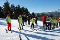 Alumnos de 21 colegios sorianos participarán hasta el 4 de marzo en el programa 'Nieve en Santa Inés' de la Diputación