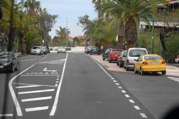 Finalizan los trabajos de acondicionamiento de la carretera del Botánico en Tenerife