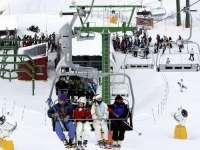Valdezcaray prevé abrir este jueves catorce pistas de esquí con calidad de nieve dura-polvo