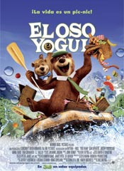 El oso Yogui - Cartel