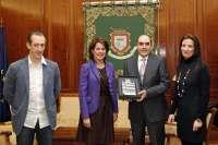 Barcina recibe al equipo directivo del Centro Integrado Politécnico Virgen del Camino