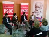 Hernando apoya en Alcantarilla (Murcia) la candidatura socialista que encabeza José Antonio Sabater