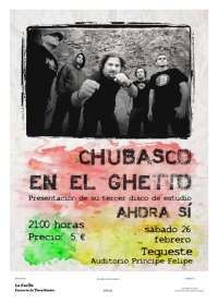 El grupo tinerfeño Chubaso en el Guetto presenta este sábado en Tegueste su disco 'Ahora sí'
