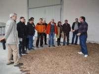Unas 50 personas participan en una visita al Aula de la Naturaleza de Berriozar