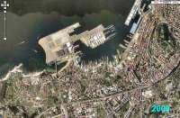 Unas 4.000 personas convocadas por 'A ría non se vende' protestan en Vigo contra los rellenos en la ría de la ciudad