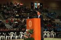 Más de 5.000 murcianos asisten al Encuentro Diocesano de Familias en el Palacio de Deportes de Murcia