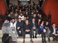20 alumnos de diseño de toda Europa participan esta semana en el 'Project Week La Rioja' para diseñar un hito luminoso
