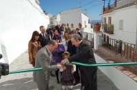 Alozaina inaugura en el Día de Andalucía las obras de mejora de dos calles y un parque infantil
