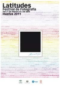 Comienza este martes el primero de los tres ciclos de cine programados en 'Latitudes Fotografía 2011'