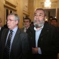 Cándido Méndez e Ignacio Fernández Toxo participan este martes en Murcia en novena manifestación de empleados públicos