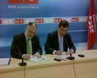 El PSOE y Prex-Crex concurrirán de forma conjunta en Extremadura a las elecciones autonómicas y municipales
