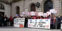 Trabajadores de Qualytel, Barclays, Sitel y HP se concentran contra los