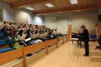 La Coral Andra Mari Abesbatza cantará la Tercera Sinfonía de Mahler en el Palacio Euskalduna