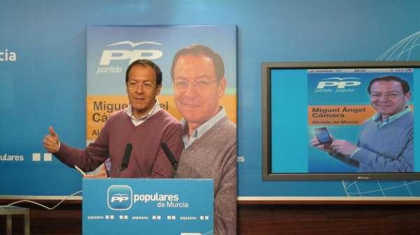 Cámara, designado oficialmente candidato del PP en el municipio de Murcia para las elecciones de mayo