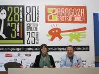 Más de 80 restaurantes participan en 'Zaragoza Gastronómica' que comienza la próxima semana