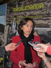 Aguilar apuesta por preservar el valor de la trashumancia para lo que el Gobierno ha invertido 146 millones