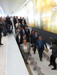 El metro comenzará en fase de pruebas a circular en subterráneo a su paso por Benimàmet a mediados de mayo