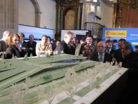 Morlán justifica la necesidad de la estación provisional para poder afrontar los gastos de la integración ferroviaria