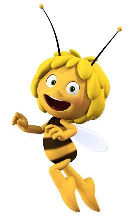 <p>La abeja Maya 3D.</p>