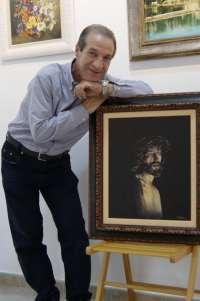 El pintor murciano Francisco Muñoz Molina inaugura este sábado en Zarandona su nueva exposición de pinturas al óleo