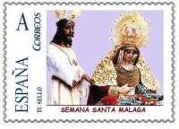 S.La Semana Santa de Málaga tienen su representación en sellos de correos