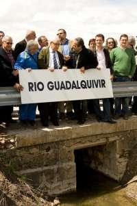 Foro 'Guadalquivir nace en Almería' espera aún medidas anunciadas por el PSOE para estudiar el origen del río