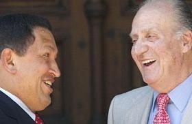 El Rey y Chávez
