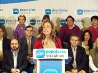 PP de Bilbao no cree prioritaria la inversión de un millón de euros en el parque de skate y dice que