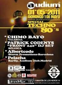 Chimo Bayo vuelve a pinchar el domingo en Madrid en una fiesta especial 'techno remember'