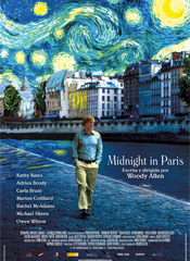 Midnight in Paris - Cartel