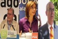 De la Torre será el más madrugador para ir a votar, seguido de Gámez y de Moreno Brenes