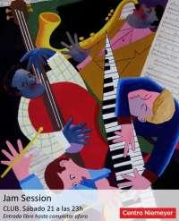El Centro Niemeyer organiza la primera Jam Session del Club