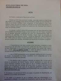 La Junta Electoral de Toledo desestima la denuncia de la candidatura de Barredo contra el PSOE