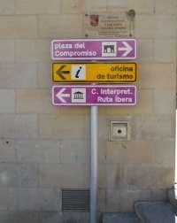La Comarca Bajo Aragón-Caspe señaliza más de un centenar de puntos de interés en su territorio