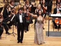 La soprano rumana Angela Gheorghiu conquista al público vallisoletano en su único concierto en España