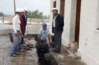 Inician las obras del futuro centro de interpretación sobre los restos romanos de Torrox