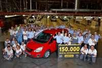 La unidad 150.000 de la nueva generación del Meriva sale de la planta de Opel en Figueruelas