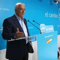 Arenas: Al PSOE le perjudicará electoralmente no adelantar las generales porque los españoles lo ven como un