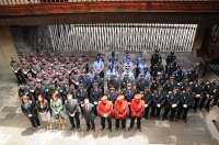 El Gobierno canario distingue a dos mandos de Policía Foral por colaborar en la puesta en marcha de su cuerpo policial