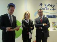 Nestlé invertirá más de 100 millones en España en 2011, parte de ellos en Valladolid