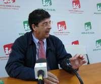 Valderas pedirá a Griñán en el Parlamento que parte de las ayudas por 'la crisis del pepino' vaya a los jornaleros