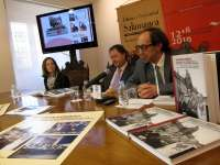Una exposición recoge las imágenes de la celebración del VII centenario de la Universidad de Salamanca