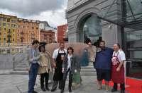 El cocinero David De Jorge cocinará en Bilbao un filete ruso de 15 m2 y 400 kilos de peso