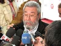 Cándido Méndez visita este lunes la empresa Navantia en Cartagena