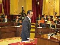 El Parlament acogerá el próximo martes y miércoles el debate de investidura de Bauzá
