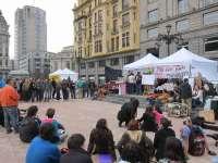 Los indignados de Oviedo levantan este domingo el campamento
