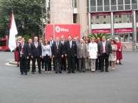 Los concejales de Bildu en el Ayuntamiento de Bilbao no acuden a la ofrenda floral a Don Diego López de Haro